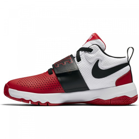 Tenis Nike Team Hustle Rojo Negr Junior 22.5-25 Original