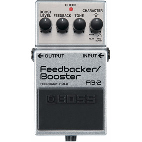 Pedal De Guitarra Boss Fb-2 Feddback/booster + Frete Grátis