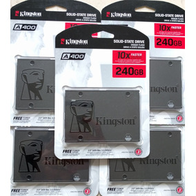 Disco Estado Solido Kingston A400 Ssd 240gb Sata 3 2.5