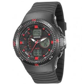 c9301b51837 Relógio Masculino Anadigi Speedo Digital Emborrachado 81082g