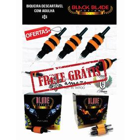 Kit 20 Biqueiras Bicos Misto Com Agulha Black Blade