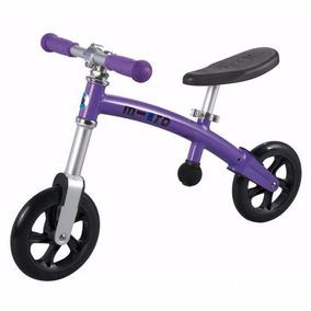 Micro Bicicleta Para Niño De Balanceo Azul Diseño Suizo