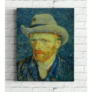 Quadro Auto Retrato De Van Gogh 30x40cm