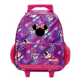 Mochila Con Ruedas Primaria Disney Minnie Mouse