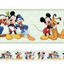 Adesivo Decorativo Faixa Mickey E Sua Turma 3