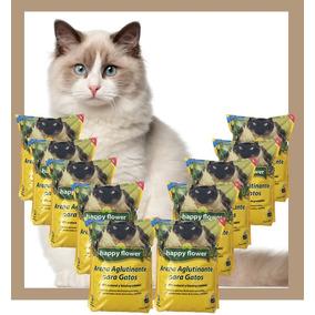 Arena Para Gatos Aglutinante (caja C/ 10 Bolsas De 3 Kg C/u)