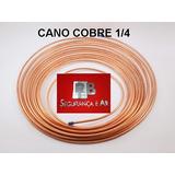 Cano Cobre 1/4 Para Tubulação Ar Condicionado Split Em Geral
