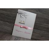 Convite De Casamento - Papel Perolado - Luva (envelope) 5un