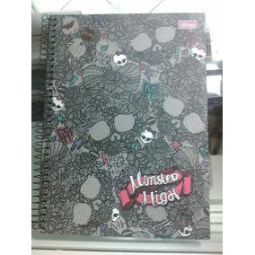 Caderno Monster High 96 Folhas Capa Dura Tilibra *5 (9070)