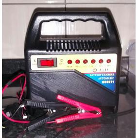 Carregador De Bateria Moto, Carro, Náutica, 6 E 12v, 6 Amp