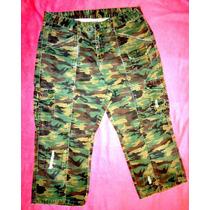 Padrisima Bermuda Militar Fashion Bug Talla Mediana