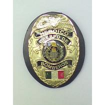 Placa Del Heroico Cuerpo De Bomberos Tipo Policia Judicial