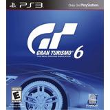 Juego Gran Turismo 6 Para Ps3 Nuevo Original Sellado Fisico