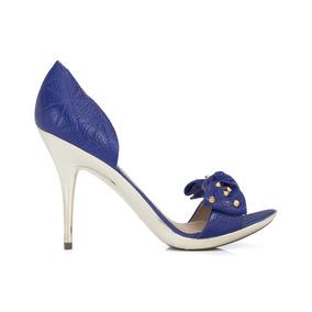 Sandália Dumond Turmalinna Merino Azul Royal