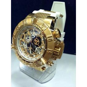 Relógio Invicta 18528 Subaqua Noma 3 Branco Original Ref0041