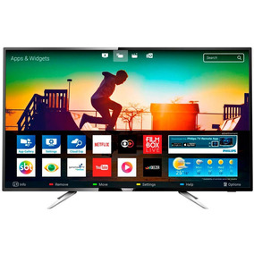 Smart Tv Led 50 Philips 50 Polegadas 4k Uhd Conversor Digita