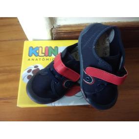 883aeeae5 Tenis Infantil Klin Toy Novo Azul Marinho vermelho Tam.24