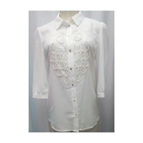 Camisa De Vestir Importada Bordada
