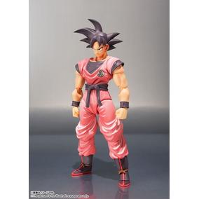 Boneco Goku Kaioken Dbz Sdcc 2017 Bandai Sh Figuarts