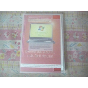 Cd Windows 7 Original Starter Con Licencia 32bits