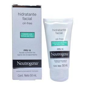 Kit C/ 4 Hidratante Facial Neutrogena Oil Free Fps15 Com 50m