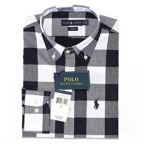 Camisa Jeans Polo Ralph Lauren Tamanho G - Camisa Manga Longa ... 5c29bb84627