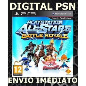 Playstation All Stars Battle Royale Ps3 Psn Envio Imediato