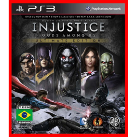 Injustice Gods Among Us Ultimate Ps3 Psn Portugues