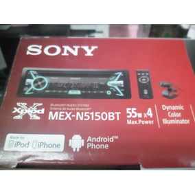 Sony Xplod Mex-n5150bt O 5100bt Usb Bluetooth Doble Camaleon