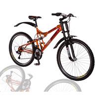 Bicicleta Bimex Roja Rodada 26 - 18 Vel. Doble Amortiguador