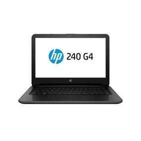 Notebook Hp 240 G4 Core I3 4gb Win 10 Tela 14 - Preto