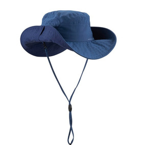 Sombrero De Trekking En Montaña Trek 500 Anti-uv Azul 68c92d1f283