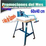 Maquina De Plancha Sublimacion Sublimar Transfer Vinil 60x40