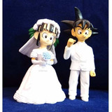 Dragon Ball Matrimonio Decoracion Torta Goku Y Milk