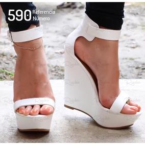 Sandálias Femininas De Salto Alto Estilo Importada Ref: 590