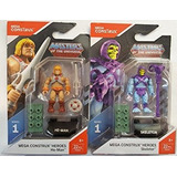 Masters Of The Universe He Man Skeletor Mega Construx 5cm