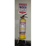 Extintor Abc Multiproposito, Soporte Para Piso