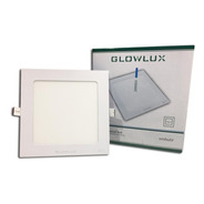 Panel Led Embutir 18w Cuadrado Luz Fría - Glowlux - E. A.
