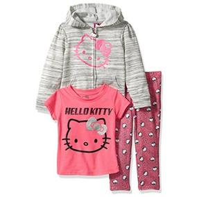 Conjunto 3 O 2 Piezas Niña Hello Kitty 12 Años