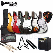 Guitarra Eléctrica Aria Pro 2 - Stg-003 Super Combo !!!