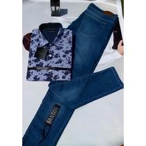 Camisa Estampada Ss17 Exclusiva Santos & Genaro
