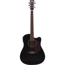 Violão Elétrico Tagima Memphis Folk Cutaway Aço Md18 Preto