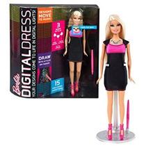 Juguete Año 2013 Mattel Barbie Vestido Digital Serie 12 Pul