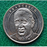Francia Moneda Medalla Notre Dame Papa Francisco