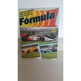 Álbum De Figurinhas Fórmula 1 - Década De 1980.