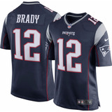 Jersey Patriotas De Nueva Inglaterra Tom Brady 12 Azul Pats