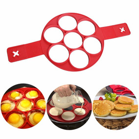 Panquequeira De Silicone Flippin Fantastic Omelete E Waffle