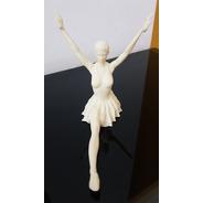 Bailarina Clásica, Ballet, Para Pintar 3d