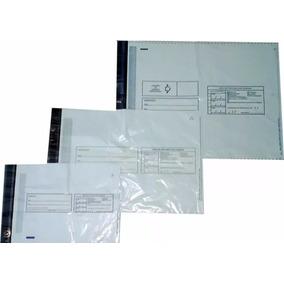 Saco Plástico Correio Destinatário / Remetente 20x25 450 Un