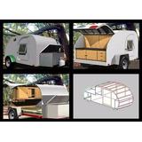 Projetos Para Fabricação De Mini-trailer + 3 Brindes